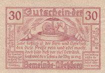 Austria 30 Heller - Abetzberg - 1920