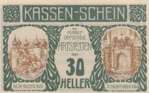 Austria 30 Heller - Artstetten - 1920
