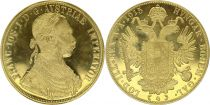 Austria 4 Ducat Franz Joseph I 1915 (Restrike 1915 to 1936) - Gold