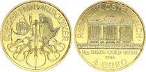 Austria 4 Euro 1/25 Oz Gold Philarmonic Orchestra - 2014