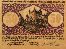 Austria 50 Heller, Schwertberg - notgeld 1920 - AU