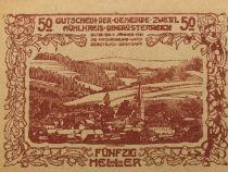 Austria 50 Heller, Zwettl - notgeld 1920 - aUNC