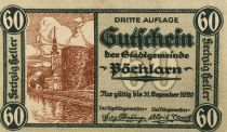 Austria 60 Heller, Pöchlarn - notgeld 1920 - AU