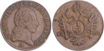 Autriche 1/2 Kreuzer François II