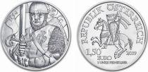 Autriche 1,50 Euro Once Argent Léopold V - 2019