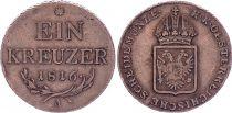 Autriche 1 Kreuzer, Franz II - Armoiries - 1816 A