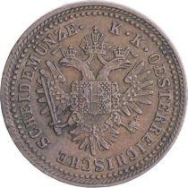 Autriche 1 Kreuzer Armoiries