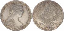 Autriche 1 Thaler Marie-Thérèse - 1780 X - Refrappe - ex.1