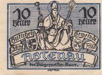 Autriche 10 Heller - Abtenau - 1920