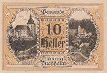 Autriche 10 Heller - Attnang-Pochheim - 1920