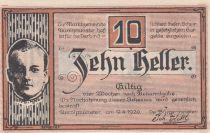 Autriche 10 Heller - Aurollzmunster - 1920