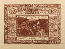 Autriche 10 Heller, Hinterbrühl - notgeld 1920 - P.NEUF