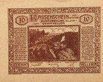 Autriche 10 Heller, Hinterbrühl - notgeld 1920 - SPL