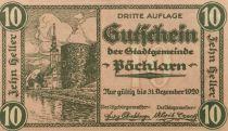 Autriche 10 Heller, Pöchlarn - notgeld 1920 - NEUF