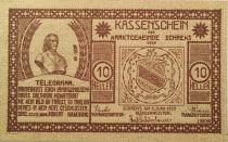Autriche 10 Heller, Schrems - notgeld 1920 - NEUF