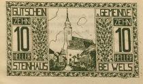 Autriche 10 Heller, Steinhaus - notgeld 1920 - P.NEUF