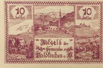 Autriche 10 Heller, Waldkirchen - notgeld 1920 - P.NEUF