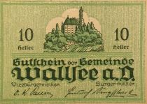 Autriche 10 Heller, Wallsee - notgeld 1920 - P.NEUF