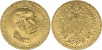 Autriche 10 Korona François Joseph I - Aigle à 2 têtes - 1912