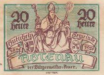 Autriche 20 Heller - Abtenau - 1920