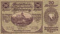 Autriche 20 Heller - Allentsteig- 1920