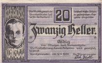 Autriche 20 Heller - Aurolzmunster - 1920