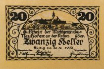 Autriche 20 Heller, Neuhofen - notgeld 1920 - P.NEUF