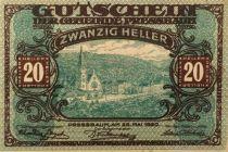 Autriche 20 Heller, Pressbaum - notgeld 1920 - SUP