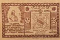 Autriche 20 Heller, Schrems - notgeld 1920 - NEUF