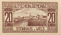 Autriche 20 Heller, Steinhaus - notgeld 1920 - SPL
