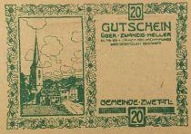 Autriche 20 Heller, Zwettl - notgeld 1921 - SPL