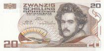 Autriche 20 Schilling Moritz Daffinger - 1986