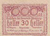 Autriche 30 Heller - Abetzberg - 1920