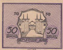 Autriche 50 Heller - Anif - 1920