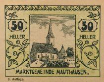Autriche 50 Heller, Mauthausen - notgeld 1920 - SUP+