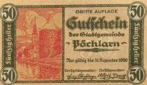 Autriche 50 Heller, Pöchlarn - notgeld 1920 - P.NEUF
