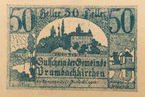 Autriche 50 Heller, Prambachkirchen - notgeld 1920 - SPL