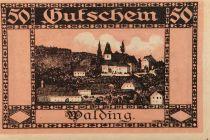Autriche 50 Heller, Walding - notgeld 1920 - SPL