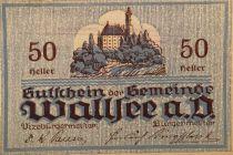 Autriche 50 Heller, Wallsee - notgeld 1920 - P.NEUF