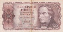 Autriche 500 Schilling Josef Ressel - Voilier - 1965 - TTB - P.139