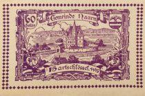 Autriche 60 Heller, Naarn - notgeld 1920 - P.NEUF