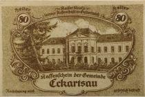 Autriche 80 Heller, Eckartsau - notgeld 1920 - NEUF
