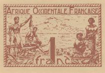 B A O 1 Franc Pêcheurs - 1944