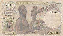 B A O 10 Francs 1954 - Chasseurs - Série C.133