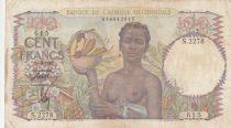 B A O 100 Francs 1947 - Femme avec fruits, famille - Série S.2278