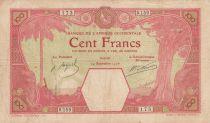 B A O 100 Francs Dakar - 24-09-1926 Série S.159