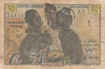 B A O 5 Francs ND1956 - Trois jeunes filles
