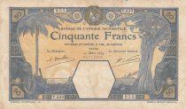 B A O 50 Francs Dakar - 14-03-1929 Série T.229