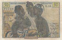 B A O 50 Francs ND1956 - Trois jeunes filles