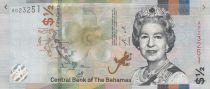 Bahamas 1/2 Dollar Elisabeth II - Scène de marché - 2019
